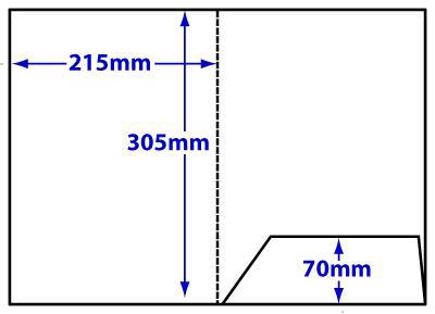 FA4_234 A4 loose flap folder
